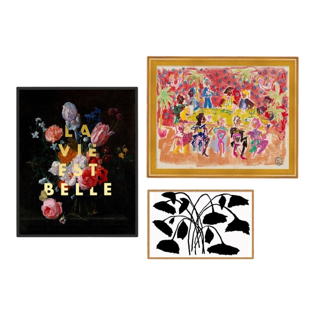 Park Avenue Gallery Wall, Set of 3 For Sale