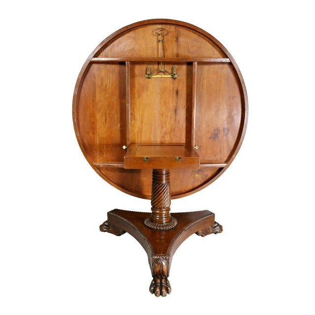 Brown William IV Rosewood Breakfast Table For Sale - Image 8 of 9