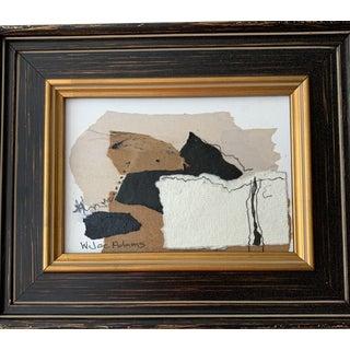 Joe Adams Framed Collage Art For Sale