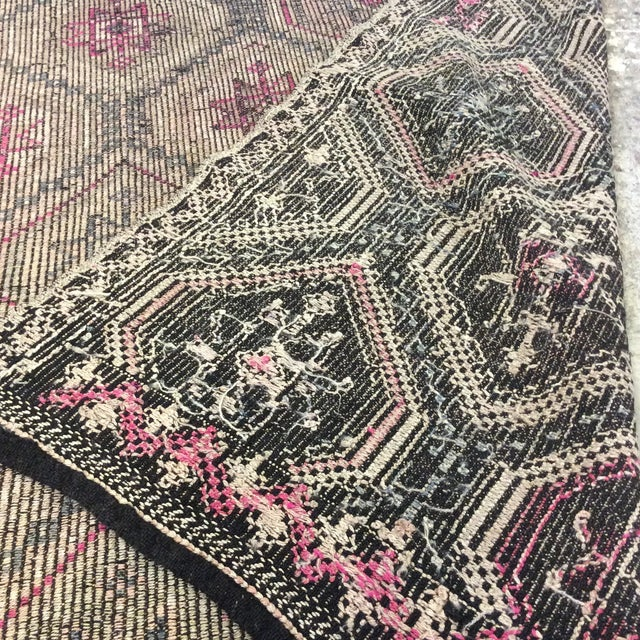 "Textile 1860's Turkish Sumac- 4'6""x8'5"" For Sale - Image 7 of 13"