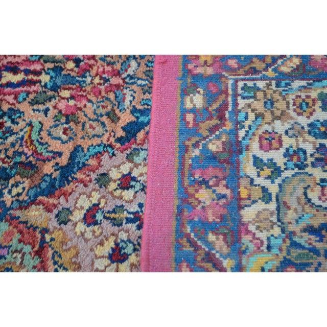 Karastan #717 Multi Panel Kirman Large Room Size Rug For Sale - Image 9 of 13