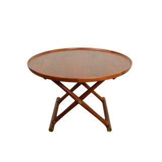1950s Danish Modern Mogens Lassen a.j. Iversen Teak Coffee Table For Sale