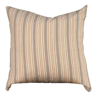 Naturally Dyed Handwoven Tenun Lurik Pillow