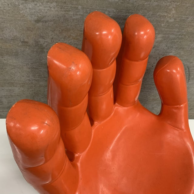 Vintage Modern Plastic Molded Hand Chair For Sale In San Diego - Image 6 of 10