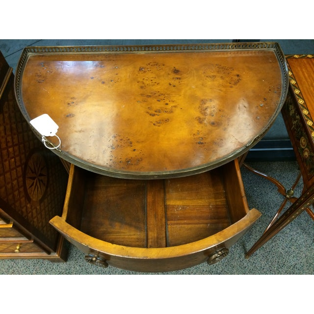 1850's Entry Table with Jasper Faced Pull Handle - Image 7 of 8