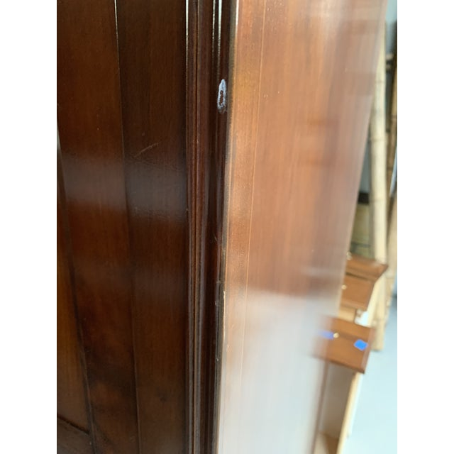 Metal 1990s Grange French Entertainment Armoire / Tv Stand For Sale - Image 7 of 9