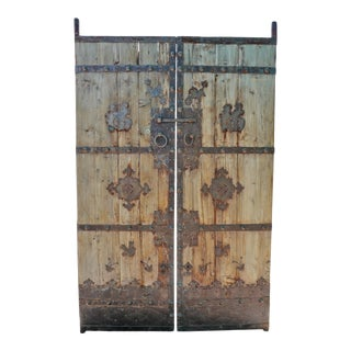 Antique Mongolian Old Door For Sale