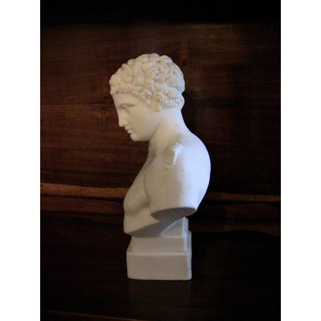 19c Hermes Parian Ware Bust For Sale In Dallas - Image 6 of 9
