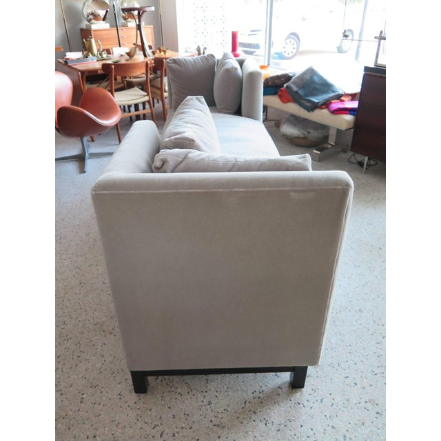 Mid-Century Modern Modern Mid-Century Harvey Probber Tete-A-Tete Gray Sofa For Sale - Image 3 of 7