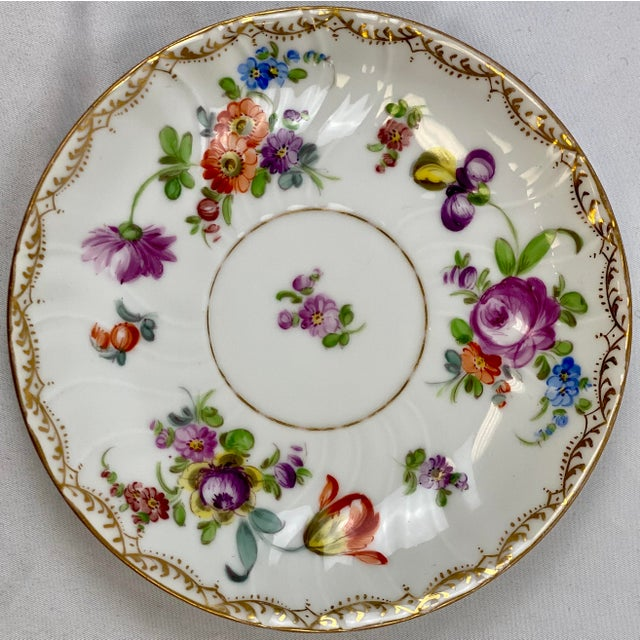 """Includes: Cup (4.75""""x4""""x2.5"""") and Saucer (6.25""""x6.25""""x1"""")"""