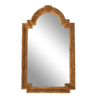 Carver's Guild Beaux Arts Gilt Mirror For Sale