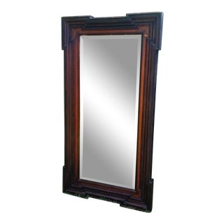 Victorian 19th Century Hall Wall Mirror For Sale