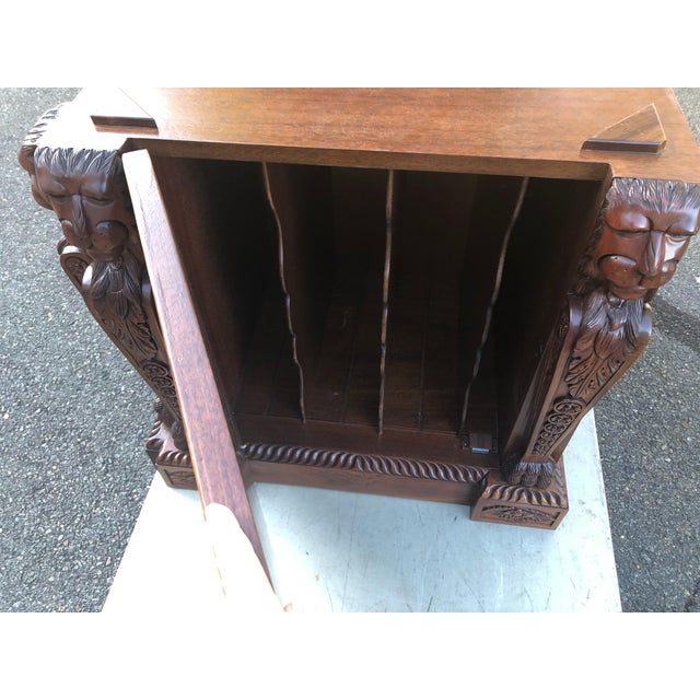 2000 - 2009 Mahogany Chippendale Style Double Pedestal Partners Desk For Sale - Image 5 of 12