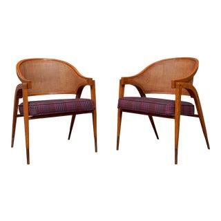 Edward Wormley for Dunbar Captain's Chairs For Sale