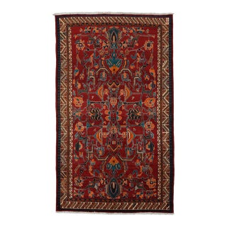 Vintage Persian Qashqai Rug 5'2'' X 8'9'' For Sale