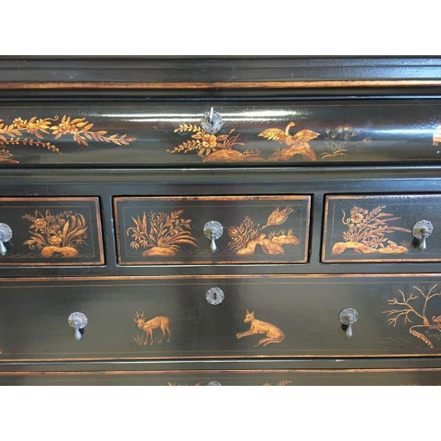 Sheffield chinoiserie dresser by Dennis and Leen. California based Dennis and Leen produces exquisite antique reproduction...
