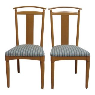 Ethan Allen American Dimensions Dining Chairs-a Pair For Sale