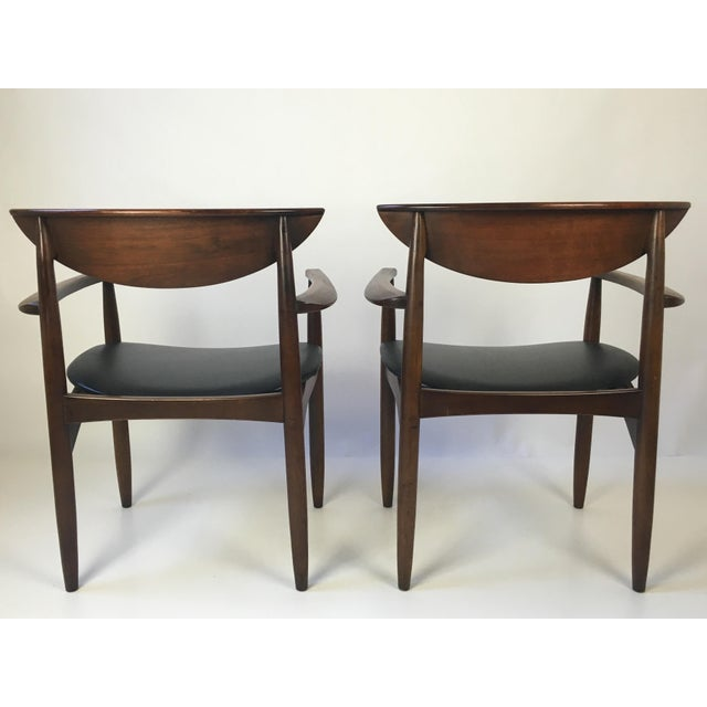 Lane Perception Modernist Armchairs - A Pair For Sale - Image 5 of 9