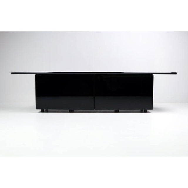 Mid-Century Modern Lodovico Acerbis & Giotto Stoppino for Acerbis International Sheraton Credenza For Sale - Image 3 of 11