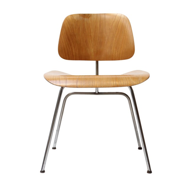 Eames DCM Chair by Herman Miller For Sale