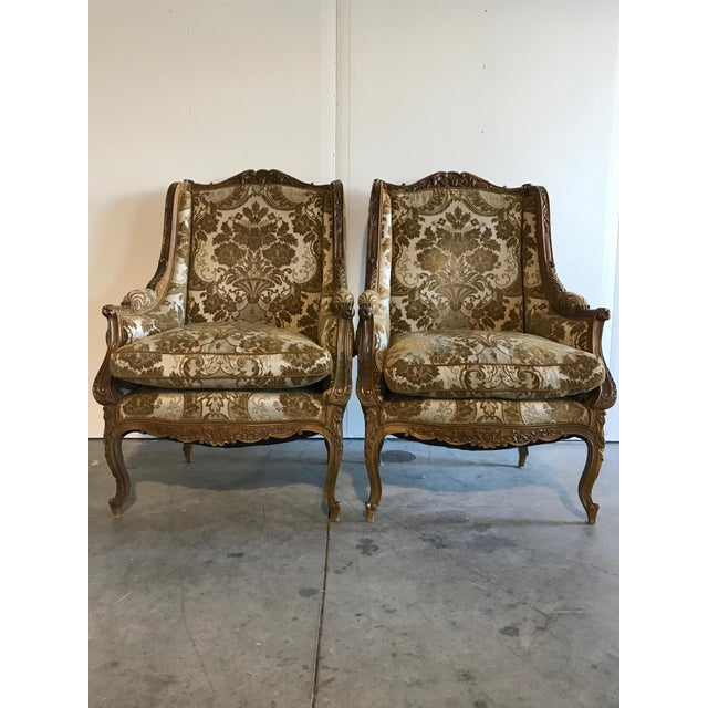 18th Century Hand Carved Antique Chairs - a Pair - Image 10 of 10 - 18th Century Hand Carved Antique Chairs - A Pair Chairish