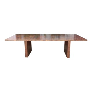 Material Culture Copper Conference/Dining Table For Sale