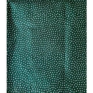 Schumacher Glazed Cotton Polka Dot Chintz Fabric For Sale