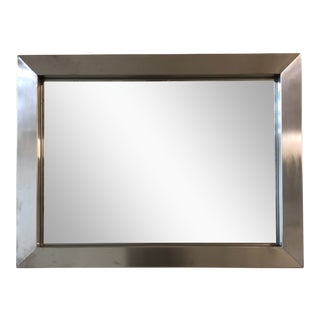 Industry Metal Mirror, by Room & Board For Sale