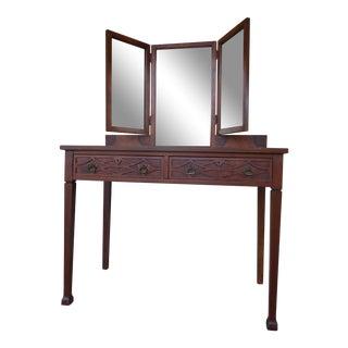Hollywood Regency Dressing Table / Vanity