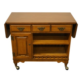 Tell City Maple Colonial Andover Finish Bar / Server For Sale