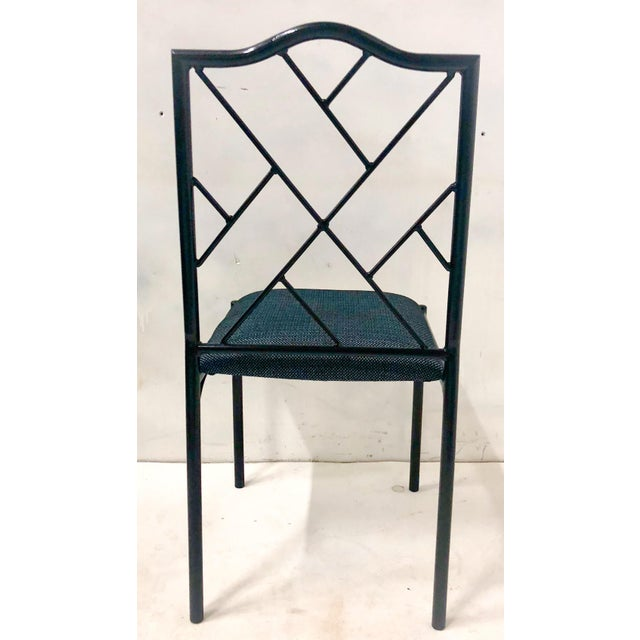 1960s Chippendale Style Dining Chairs, Set of Six For Sale - Image 5 of 12
