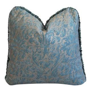 Designer Italian Mariano Fortuny Lucrezia Feather/Down Pillow