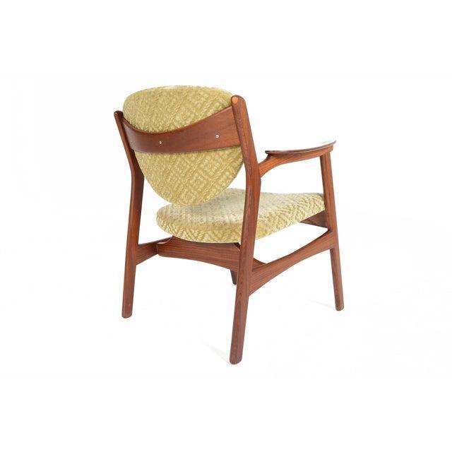 Danish Modern Rosewood & Mohair Armchair - Image 6 of 10