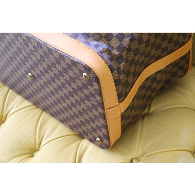 Louis Vuitton Special Edition Louis Vuitton Travel Bag, Damier Canvas For Sale - Image 4 of 12