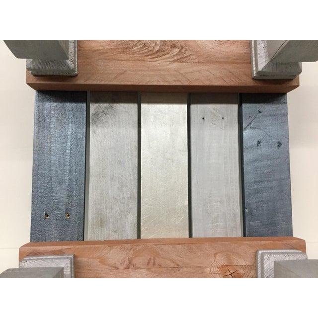 Industrial Reclaimed Hardwood Meditation Table For Sale - Image 12 of 13