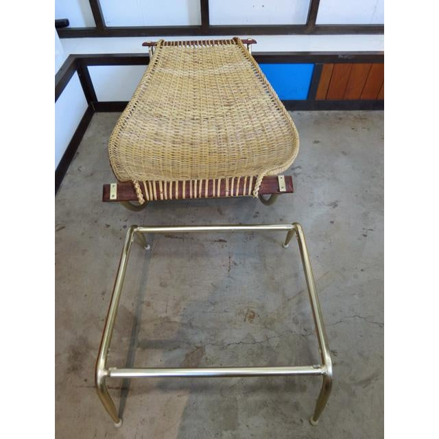 1950s Vintage Troy Sunshade Lounge Chair For Sale In Seattle - Image 6 of 7