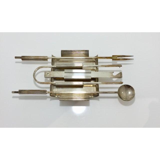 Mid-Century Modern Mid Century Italian Bar Set Tools- 5 Pieces For Sale - Image 3 of 8