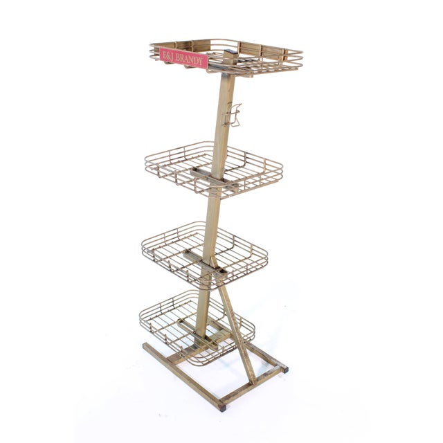 E&j Brandy Advertising Stand For Sale - Image 4 of 13