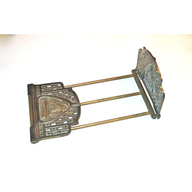 1920s Judd Art Nouveau Wise Owl Book Rack 1920s For Sale - Image 5 of 11