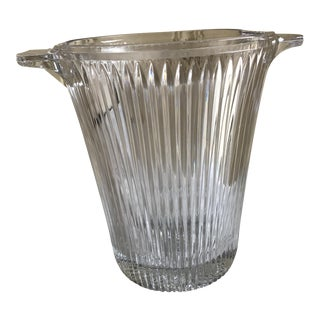 Classic Cut Glass Ice Bucket