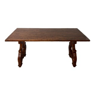 Traditional Custom Wood Writing Desk For Sale