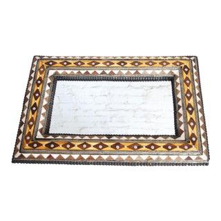Moroccan Bone Inlaid Mirror