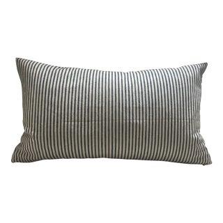 Shabby Chic Mattress Ticking Stripe Pillow For Sale