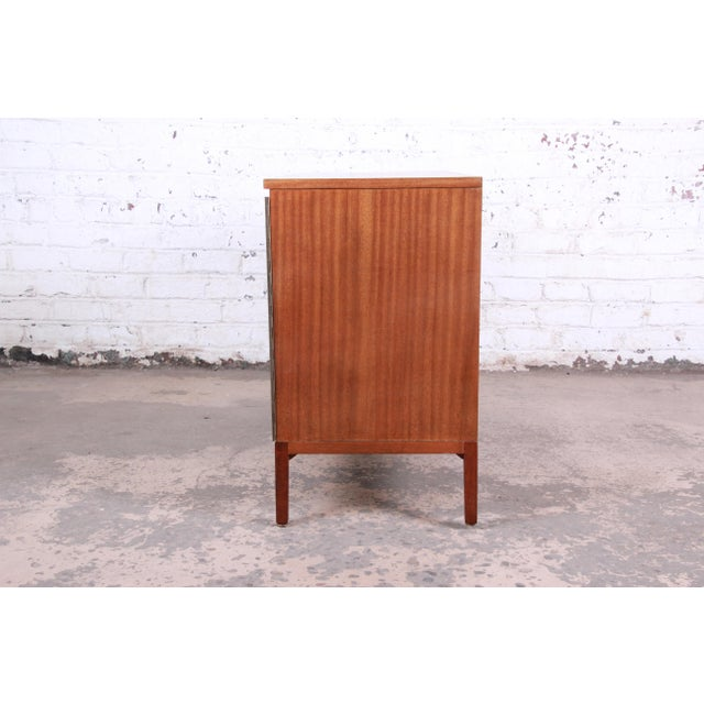Paul McCobb for Calvin Irwin Collection Mahogany Sideboard Credenza, Newly Restored For Sale - Image 10 of 13