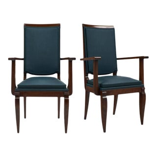 Art Deco Period French Armchairs by Dominique