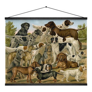 Dog Breeds 2 Wall Hanging
