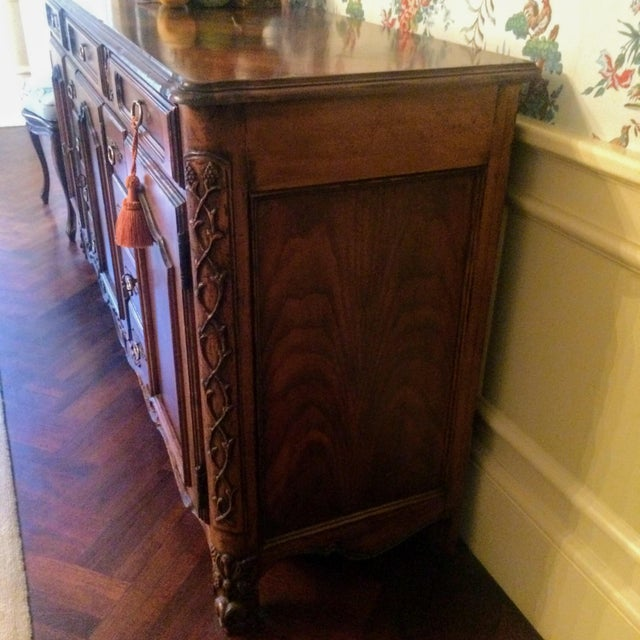 Wood Mount Airy Furniture Co. French Provincial Sideboard Buffet For Sale - Image 7 of 11