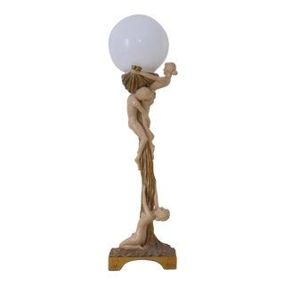 Art Deco Figurative Lamp