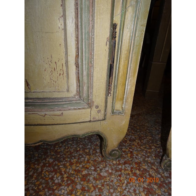 Pair of French Corner Cabinets For Sale - Image 4 of 11