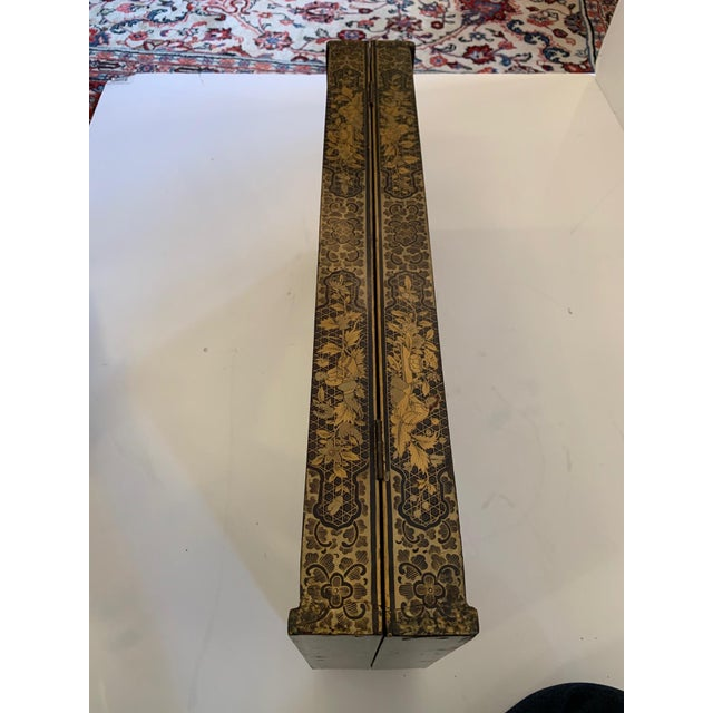 Chinese Hand Painted Lacquered Game Board For Sale - Image 12 of 13